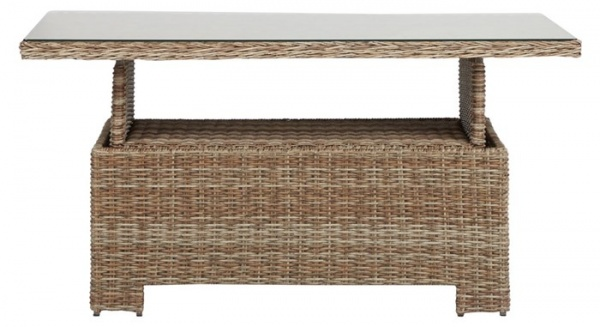 Vila Garden Table höhenverstellbar 134x 84 cm Höhe 44cm oder 68 cm